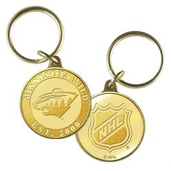 Minnesota Wild Bronze Team Keychain
