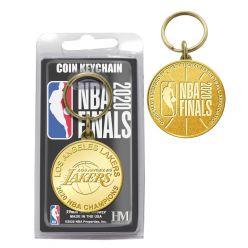 2020 NBA Finals Champions  Los Angeles Lakers Bronze Mint Coin Keychain
