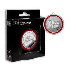 2020 NBA Finals Champions  Los Angeles Lakers Silver Mint Coin Ornament