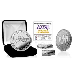 2020 NBA Finals Champions  Los Angeles Lakers 1oz .999 Proof Silver Coin