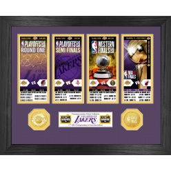 2020 NBA Finals Champions  Los Angeles Lakers Ticket Collection