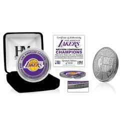 Los Angeles Lakers 2020 NBA Western Conference Champions Silver Mint Coin