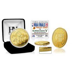 2021 NBA Finals Gold Mint Coin
