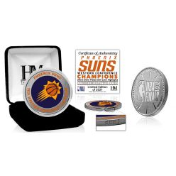 Phoenix Suns 2021 NBA Western Conference Champions Silver Mint Coin