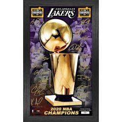 2020 NBA Finals Champions  Los Angeles Lakers Signature Trophy