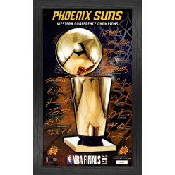 Phoenix Suns 2021 NBA Finals Signature Trophy Print Frame