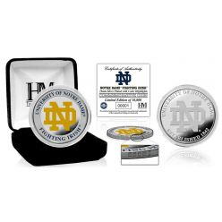University of Notre Dame Color Silver Coin