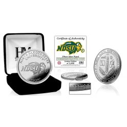 North Dakota State University Bison Silver Mint Coin