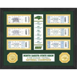 North Dakota State 6-Time Champions Ticket Collection