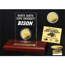 North Dakota State University Gold Coin Etched Acrylic