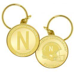 University of Nebraska Bronze Coin Keychain