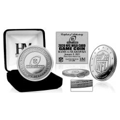 Los Angeles Rams NFC Wild Card Game Official Flip Coin