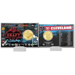 NFL Draft 2021 Bronze Coin Card