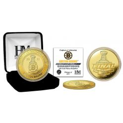 Boston Bruins 2011 Stanley Cup Champions 24KT Gold Coin