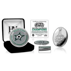 Dallas Stars 2020 NHL Western Conference Champions Silver Mint Coin