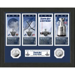 Tampa Bay Lightning 2021 Stanley Cup Champions Ticket Collection