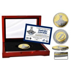 Tampa Bay Lightning 2021 Stanley Cup Champions Two-Tone Coin