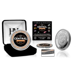 NHL 2021 Central Division Silver Mint Coin