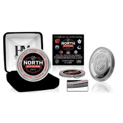 NHL 2021 North Division Silver Mint Coin
