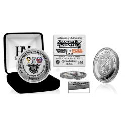 New York Islanders 2021 NHL Round 1 Victory Silver Mint Coin