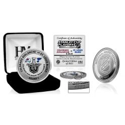 Colorado Avalanche 2021 NHL Round 1 Victory Silver Mint Coin