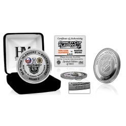 New York Islanders 2021 Round 2 Victory Silver Mint Coin