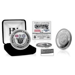 Montreal Canadiens 2021 Round 2 Victory Silver Mint Coin