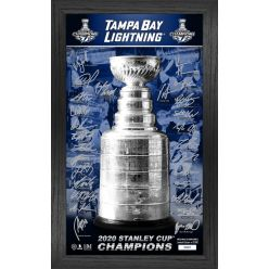 Tampa Bay Lightning 2020 Stanley Cup Champions Signature Trophy