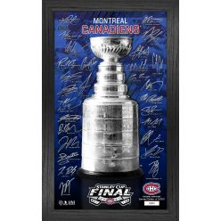 Montreal Canadiens 2021 Stanley Cup Final Signature Trophy
