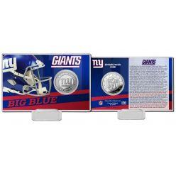 New York Giants 2020 Team History Coin Card