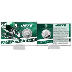 New York Jets 2020 Team History Coin Card