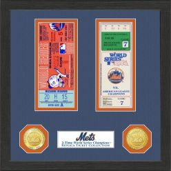 New York Mets World Series Ticket Collection