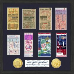 New York Yankees World Series Ticket Collection
