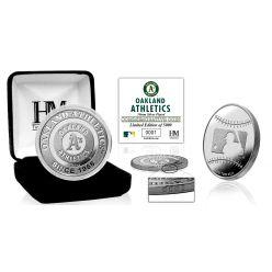 Oakland Athletics Silver Coin