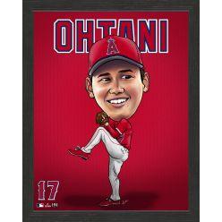 Shohei Ohtani Los Angeles Angels Framed Dynamo