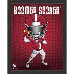 University of Oklahoma Sooners Framed Collegiate Dynamo