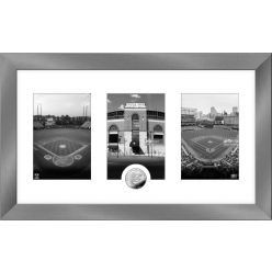 Baltimore Orioles Panoramic Art Deco Silver Coin Photo Mint