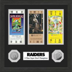 Raiders Super Bowl Ticket Collection