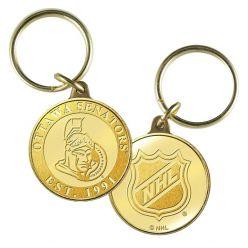Ottawa Senators Bronze Team Keychain