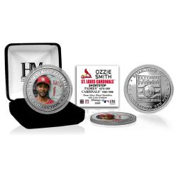 Ozzie Smith Baseball Hall of Fame Silver Color Coin