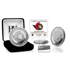 Ottawa Senators 2021 Silver Mint Coin