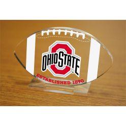 Ohio State University Etched Football Acrylic
