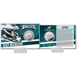 Philadelphia Eagles 2020 Team History Coin Card
