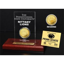 Penn State Gold Coin Etched Acrylic