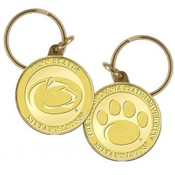 Penn State University Bronze Coin Keychain