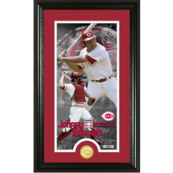 Johnny Bench National Baseball Hall of Fame Supreme Bronze Coin Photo Mint
