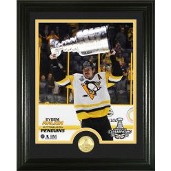 "Evgeni Malkin 2017 Stanley Cup ""Trophy"" Single Coin Photo Mint"