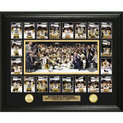 Pittsburgh Penguins Stanley Cup Champions Memorable Moment Bronze Coin Photo Mint