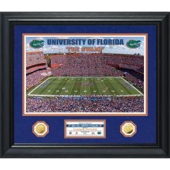 University of Florida Special Edition Gold Coin Photo Mint