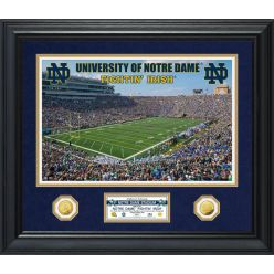 University of Notre Dame Special Edition Gold Coin Photo Mint